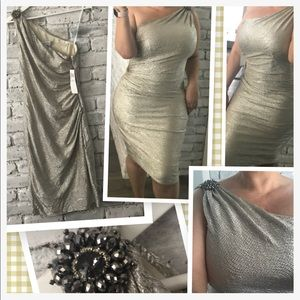 🆕Maggie London Sexy Shimmer Dress😍